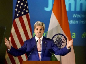 Kerry in India: US stance will help Modi counter neighbours, critics
