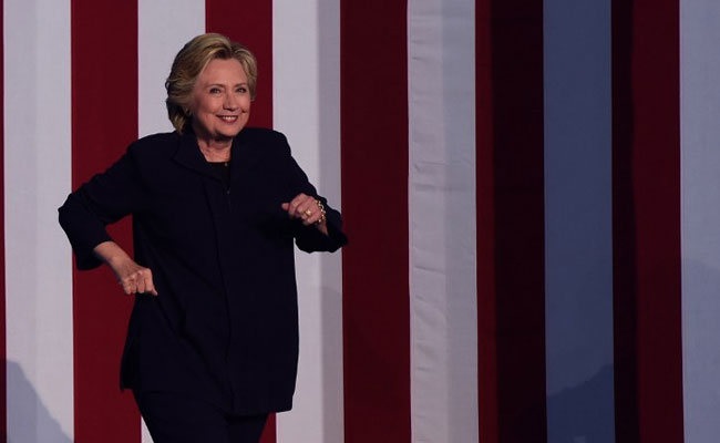 Hillary Clinton Draws Record Crowd As Donald Trump Flounders