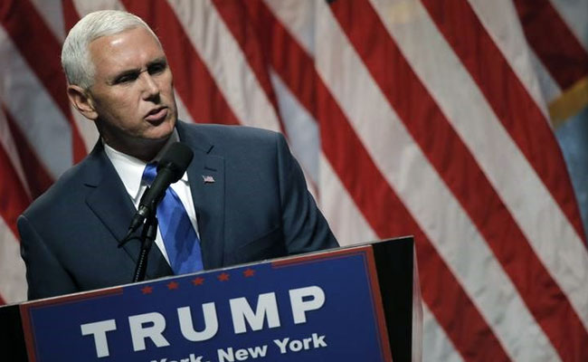Mike Pence Calls For US Attacks Against Syrian Regime