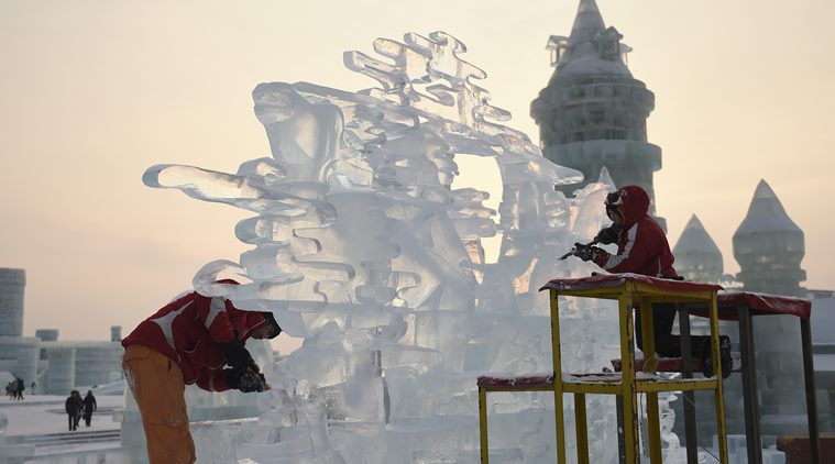 China's Ice and Snow Sculpture Festival has ice slides, winter swimming, ice sculptures' exhibition and much more