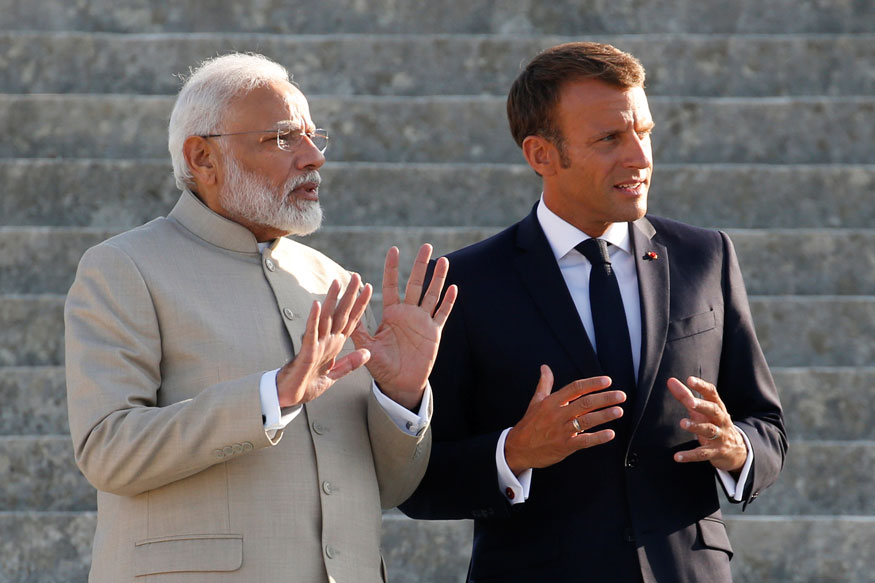 PM Modi Inaugurates Memorial in Honour of Victims of Two Air India Crashes in France