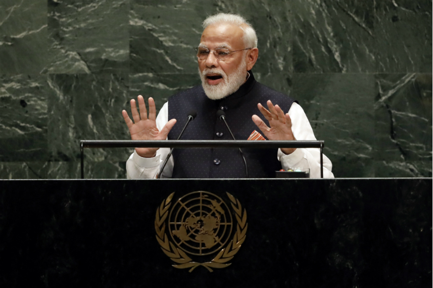 At UNGA, PM Modi Says World Must Unite Against Terror for Sake of Humanity